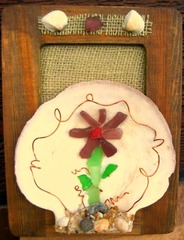 Sea glass crafts at www.shellcrafter.com